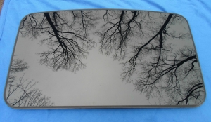 Isuzu Sunroof Glass