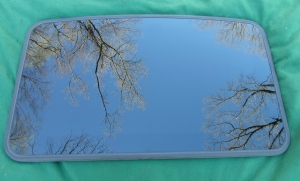 Saab Sunroof Glass