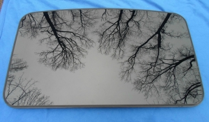 Cadillac Sunroof Glass