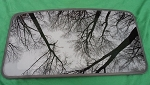 1992 MAZDA 626 OEM FACTORY SUNROOF GLASS GJ2469810A