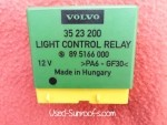 Volvo Genuine OEM Light Control Relay 3523200
