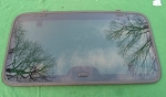 1999 ISUZU AMIGO REAR SUNROOF GLASS 8971989010