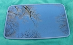 2000 LINCOLN LS SUNROOF GLASS 1W4Z-54500A18-AA; 1W4Z54500A18AA
