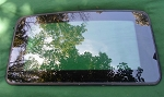 2002 MITSUBISHI DIAMANTE  SUNROOF GLASS MR101933