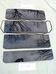 2005 - 2010 PONTIAC G6 3rd PANORAMIC SUNROOF GLASS PANEL 22714594