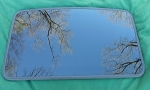 2005 SAAB 9-7X SUNROOF GLASS 25917736