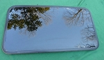 2002 SAAB 9-5 SUNROOF GLASS 4699906