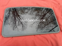 WEBASTO SOLAIRE 4300 PRE-OWNED SUNROOF GLASS PANEL 1597WA0100AB; S1598V5000AA