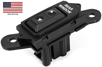 REAR POWER WINDOW SWITCH FOR 1992 - 1996 FORD BRONCO F2TZ-14529-A; F2TZ14529A