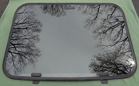 1987 DODGE LANCER SUNROOF GLASS  4440762; 4341610