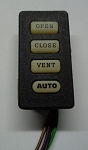 Aftermarket Sunroof Switch w/ AUTO Button