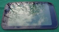 1993 HONDA CIVIC 4 DOOR OEM SUNROOF GLASS 70200-SR4-003; 70200SR4003