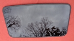 2009 FORD ESCAPE SUNROOF GLASS 8L8Z-7850054-A; 8L8Z7850054A