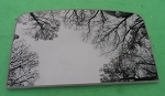 2013 FORD ESCAPE FRONT SUNROOF GLASS CJ5Z-78500A18-A; CJ5Z78500A18A