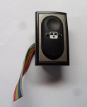 Inalfa EVO Aftermarket Rainbow Color Ribbon Sunroof Switch 8050071P01 No Logo