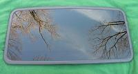 1999 SUBARU OUTBACK WAGON SUNROOF GLASS 65430AC130