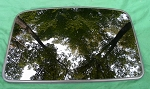 1998 HONDA PRELUDE OEM SUNROOF GLASS 70200-S30-A11; 70200S30A11
