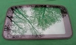 1998 HONDA CIVIC 4 DOOR OEM SUNROOF GLASS