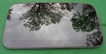 2017 MAZDA 3 SUNROOF GLASS BBM669810A; BBM669810