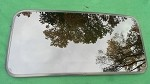 2004 MAZDA 3 SUNROOF GLASS BP4M-69-810; BP4M69810