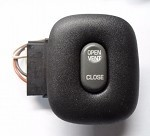1999 - 2000 OLDSMOBILE ALERO SUNROOF SWITCH 22654791