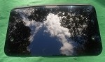 2000 LAND ROVER DISCOVERY FRONT / REAR SUNROOF GLASS PANEL EFT100540