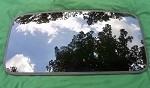 2008 HONDA RIDGELINE SUNROOF GLASS 70200-SJC-A02; 70200SJCA02