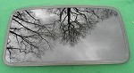 2005 TOYOTA MATRIX OEM SUNROOF GLASS 63201-01010; 6320101010