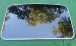 2002 LINCOLN CONTINENTAL SUNROOF GLASS F8OZ54500A18AA