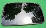 2004 HONDA CIVIC EX 2 DOOR COUPE OEM SUNROOF GLASS 70200-S5PA02; 70200S5PA02