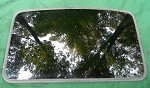 2003 LINCOLN LS SUNROOF GLASS 3W4Z-54500A18-AA; 3W4Z54500A18AA