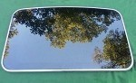 1995 LINCOLN CONTINENTAL SUNROOF GLASS F8OZ54500A18AA