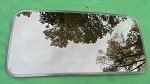 2007 MAZDA 3 SUNROOF GLASS BP4M-69-810; BP4M69810
