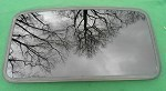 2008 TOYOTA MATRIX OEM SUNROOF GLASS 63201-01010; 6320101010