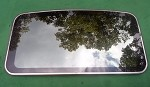 1990 FORD THUNDERBIRD SUNROOF GLASS E9SZ63502A82A