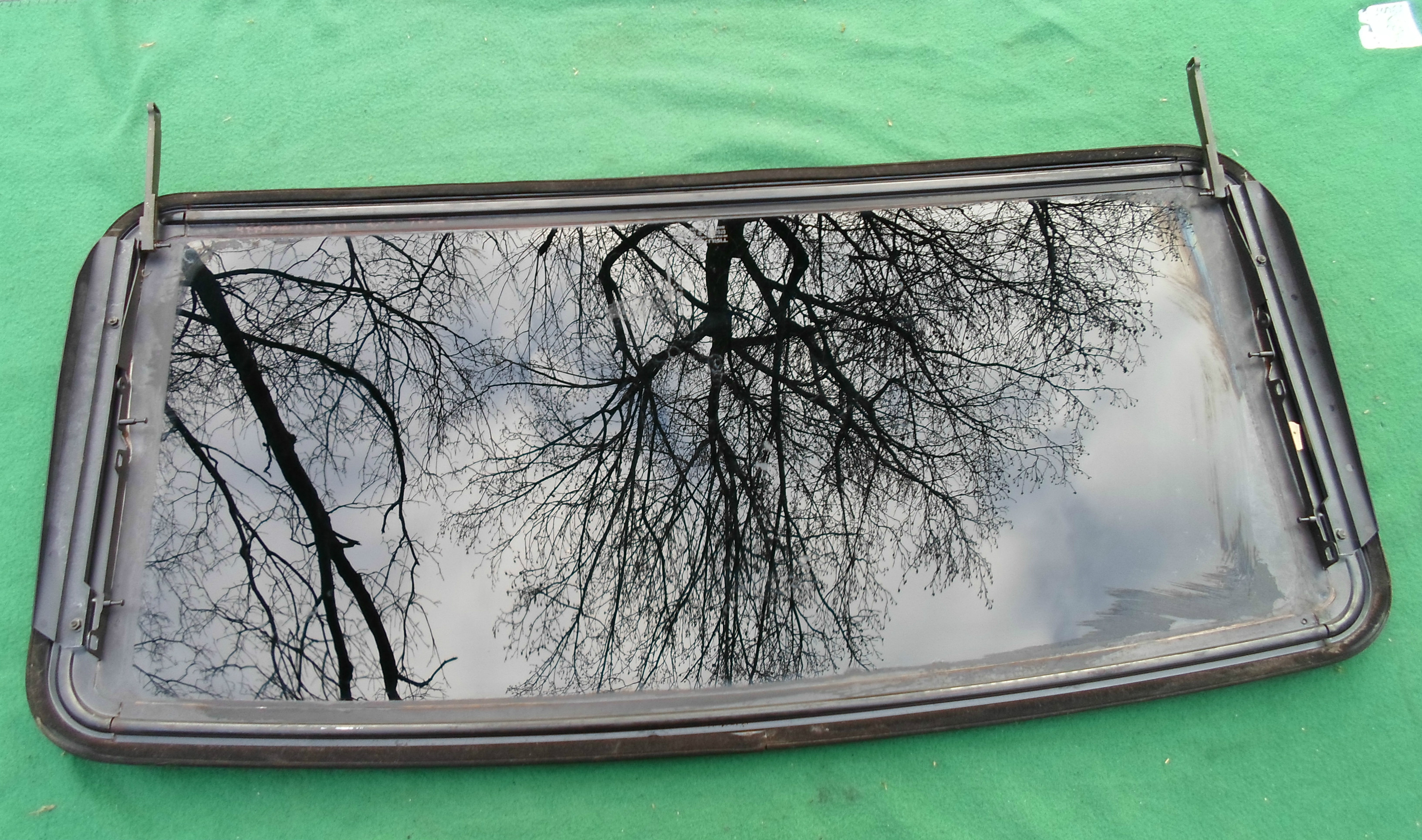 AFTERMARKET WEBASTO SOLAIRE MODEL 5300 SUNROOF GLASS PANEL FREE SHIPPING!