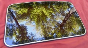 1996 LINCOLN CONTINENTAL OEM SUNROOF GLASS PANEL
