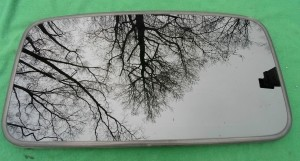 2002 ACURA CL OEM SUNROOF GLASS 70200-S3M-A02; 70200S3MA02