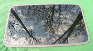 2001 BUICK CENTURY SUNROOF GLASS