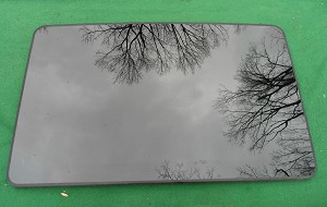 2000 MERCEDES BENZ S500 GUARD, BASE OEM FACTORY SUNROOF GLASS 2207800021
