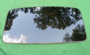 2001 VOLVO XC70 WAGON SUNROOF GLASS