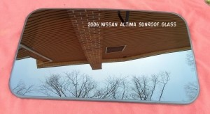 2006 NISSAN ALTIMA SUNROOF GLASS 91210ZB620; 91210-ZB620