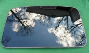 2007 LINCOLN TOWN CAR SUNROOF GLASS