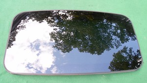 2006 SAAB 9-3 SUNROOF GLASS 4699906
