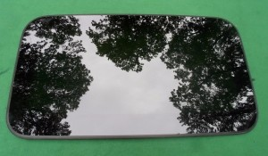 2011 NISSAN MAXIMA SUNROOF GLASS PANEL 91210-9N01A; 912109N01A