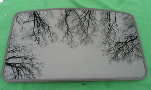 ASC ASI 840 INALFA AFTERMARKET SUNROOF GLASS PANEL MODEL 840 4730397P00
