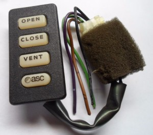 ASC Model 800 Aftermarket Pre-owned Sunroof Switch K-49X8-0031-BXXX