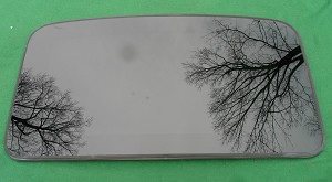 2001 LEXUS IS300 OEM SUNROOF GLASS