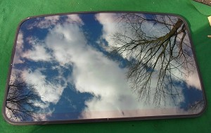 1993 BUICK RIVIERA SUNROOF GLASS