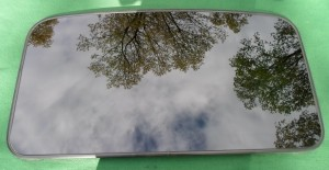 2006 TOYOTA SOLARA OEM SUNROOF GLASS PANEL 63201-AA030; 63201AA030